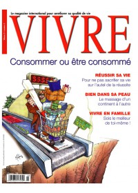 MAGAZINE VIVRE - DECEMBRE 2003