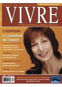 MAGAZINE VIVRE - MARS 2007