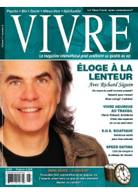 MAGAZINE VIVRE - JUILLET 2008