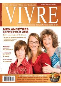 MAGAZINE VIVRE - NOVEMBRE 2008