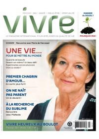 MAGAZINE VIVRE - JANVIER 2013