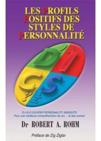 LES PROFILS POSITIFS DES STYLES DE PERSONNALITE