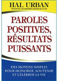 PAROLES POSITIVES RESULTATS PUISSANTS