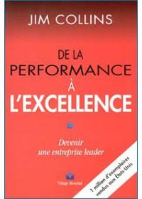 DE LA PERFORMANCE A L EXCELLENCE