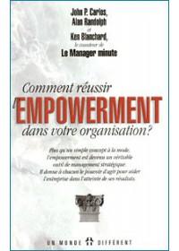 COMMENT REUSSIR L'EMPOWERMENT