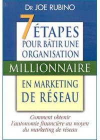 LES 7 ETAPES POUR BÂTIR UNE ORGANISATION MILLIONNAIRE EN MARKETING DE RESEAU