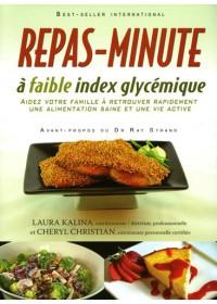 REPAS-MINUTE - A FAIBLE INDEX GLYCEMIQUE