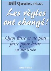 LES REGLES ONT CHANGE