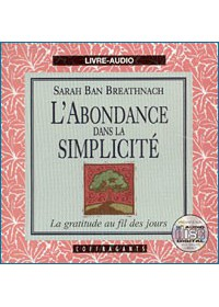 CD - L'ABONDANCE DANS LA SIMPLICITE