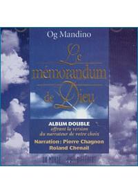 CD - MEMORANDUM DE DIEU
