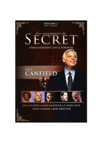 DVD - LES ENSEIGNANTS DU SECRET - VOLUME 2 - JACK CANFIELD + CD AUDIO