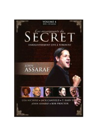 DVD - LES ENSEIGNANTS DU SECRET - VOLUME 4 - JOHN ASSARAF + CD AUDIO