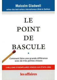 LE POINT DE BASCULE - FORMAT POCHE