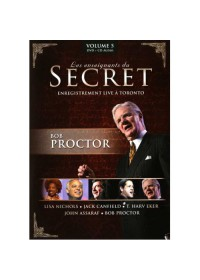 DVD - LES ENSEIGNANTS DU SECRET - VOLUME 5 - BOB PROCTOR + CD AUDIO