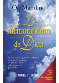 LE MEMORANDUM DE DIEU - OCCASION
