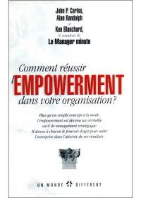 COMMENT REUSSIR L'EMPOWERMENT DANS SON ORGANISATION ?  - OCCASION