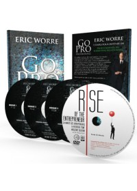 PACK LUXE GO PRO ERIC WORRE : Livre + Audio 3CD + DVD Rise