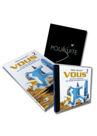 PACK TRIO VOUS AU CARRE: LIVRE + JOURNAL + CD