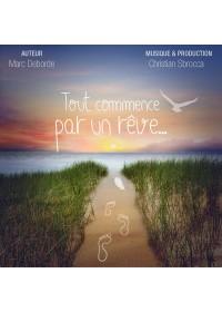 TOUT COMMENCE PAR UN REVE - Livre Audio CD