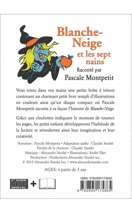 Blanche Neige Et Les Sept Nains Livre Et Cd Audio Conte Pour Enfant Libreentreprise Com