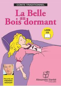LA BELLE AU BOIS DORMANT - LIVRE ET CD AUDIO - CONTE POUR ENFANT