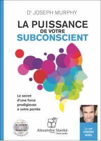 CD - LA PUISSANCE DE VOTRE SUBCONSCIENT