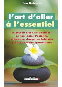 L'ART D'ALLER A L'ESSENTIEL