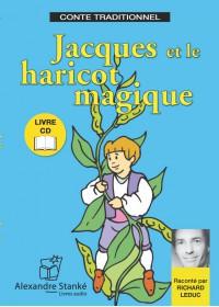 JCQUES ET LE HARICOT MAGIQUE - LIVRE ET CD AUDIO - CONTE POUR ENFANT