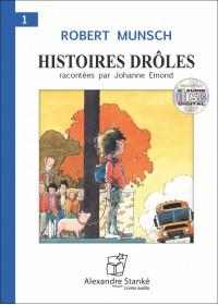CD - HISTOIRES DRÔLES 1