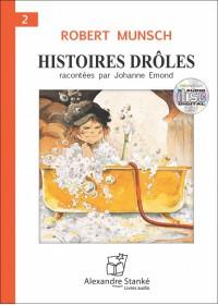 CD - HISTOIRES DRÔLES 2