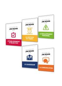 SERIE DES 5 GUIDES DE JIM ROHN