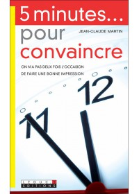5 MINUTES POUR CONVAINCRE - Numérique