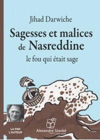 SAGESSES ET MALICES DE NASREDDINE - Audio Numérique