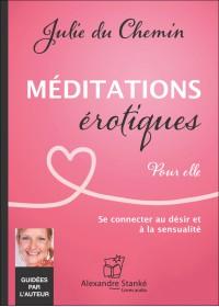 CD - MÉDITATIONS ÉROTIQUES - POUR ELLE