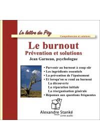 LE BURNOUT - Audio Numérique