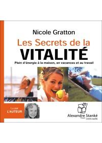 LES SECRETS DE LA VITALITÉ - Audio Numérique