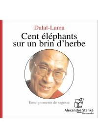 CENT ÉLÉPHANTS SUR UN BRIN D'HERBE - Audio Numérique