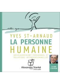 LA PERSONNE HUMAINE - Yves Saint Arnaud - Audio Numerique