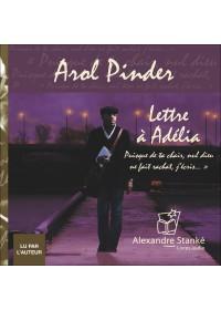 LETTRE A ADELIA - Arold Pinder - Audio Numerique