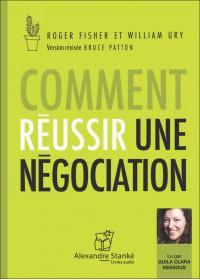 CD - COMMENT RÉUSSIR UNE NÉGOTIATION