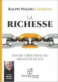 La richesse - Ralph Waldo Emerson - Livtre audio CD