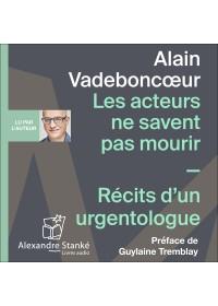 LES ACTEURS NE SAVENT PAS MOURIR - Audio Numérique
