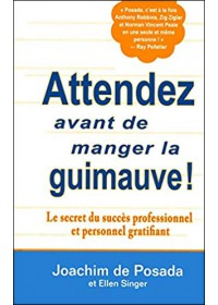 ATTENDEZ AVANT DE MANGER DE LA GUIMAUVE- OCCASION
