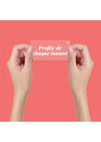 AUTOCOLLANT INSPIRANT STATIQUE PROFITE DE CHAQUE INSTANT