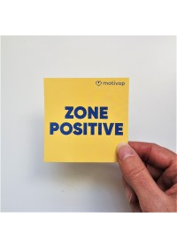 AUTOCOLLANT INSPIRANT ZONE POSITIVE