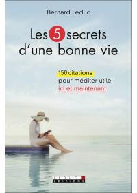 LES 5 SECRETS D'UNE BONNE VIE - OCCASION