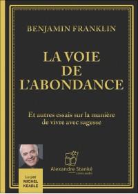 La voie de l'abondance - Benjamin Franklin - Livre audio CD